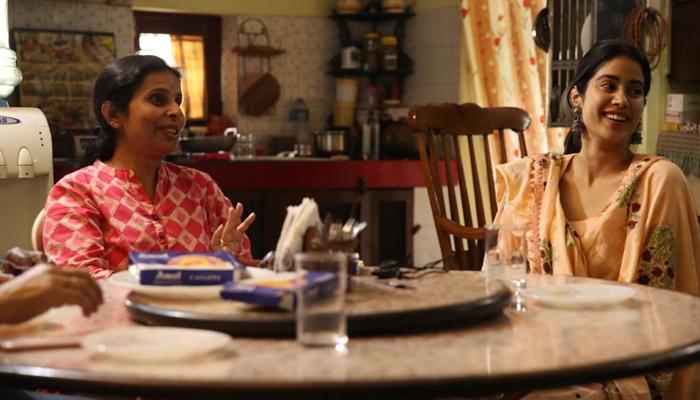 When the reel met the real - Gunjan Saxena met Janhvi Kapoor