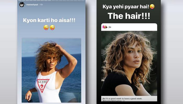 Maniesh Paul crushes on gorgeous and evergreen Popstar Jennifer Lopez