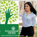 Actress Anjali Pandey Becomes the Brand Ambassador of Greenland: The NGO