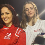 Elli AvrRam meets Female Karting Champion Sofia Necchi and shared her experience