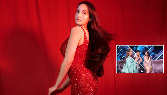 Nora Fatehi Gives A Glimpse into the Swag on the Sets of India's Best Dancer