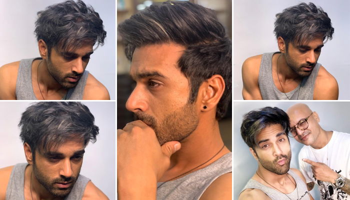 Pulkit Samrat sports a unique salt and pepper hairstyle for 'Taish'