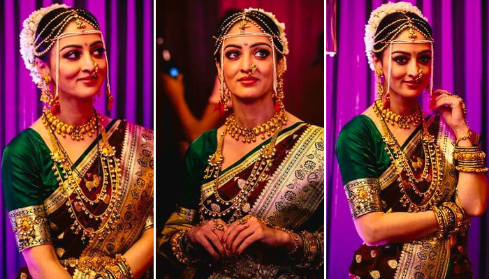 Sandeepa Dhar turns on the Desi Marathi swag for the first time!