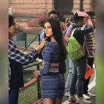 Tara Sutaria shares a throwback picture from the sets of 'Student of the Year 2'
