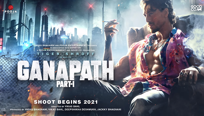 Ganapath First Look: Tiger Shroff sets the Internet on Fire With Intriguing Poster!