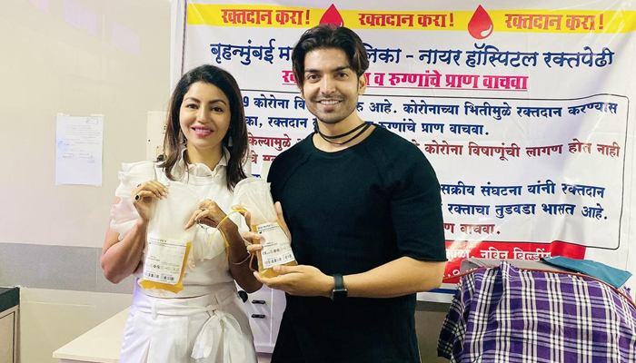 Gurmeet Choudhary and Debina spread Goodwill as they donate Plasma for COVID Patients