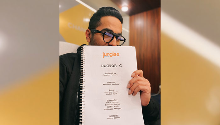 Ayushmann Khurrana and Junglee Pictures collaborate for a new film, Titled 'Doctor G'
