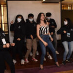 Divya Khosla Kumar shakes a Leg with College Students at Kshitij Festival!