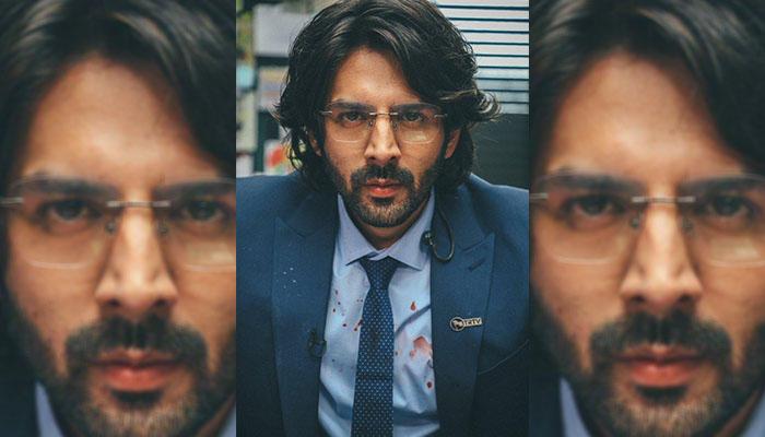 Kartik Aaryan Shares An Intense And Intriguing First Look As Arjun Pathak From Dhamaka!