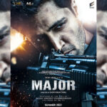Capturing the fierce bravery of Major Sandeep Unnikrishnan, Team Major unveils the First Look Poster