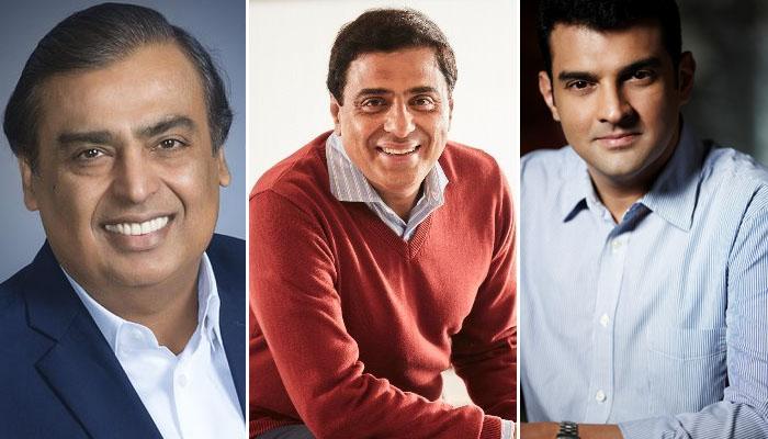 Mukesh Ambani, Ronnie Screwvala and Siddharth Roy Kapur feature on the Global Variety 500 list!