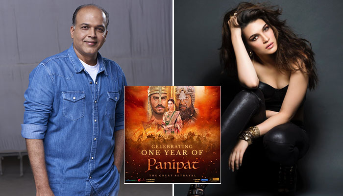 Ashutosh Gowariker celebrates One Year of Panipat, Kriti Sanon pens heartwarming note for the director!