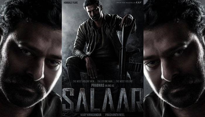 Prabhas, KGF director Prashanth Neel team up for Pan-Indian project Salaar; First Poster Unveiled!
