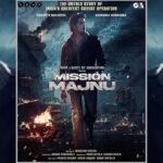 Sidharth Malhotra & Rashmika Mandanna Collaborate for Espionage Thriller 'Mission Majnu', First Look Out!