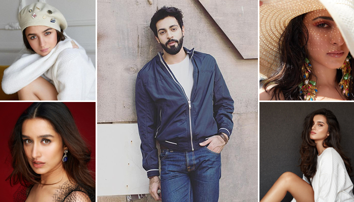 Alia Bhatt, Shraddha Kapoor, Kiara Advani, Tara Sutaria & Other Actresses welcome Anmol Thakeria Dhillon to the movie Industry