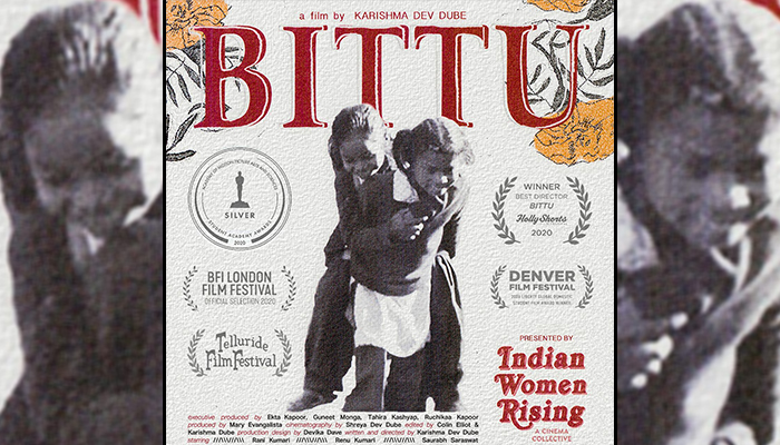 'Indian Women Rising' picks the Student Academy Award Winner and Oscar contender 'Bittu' as it's inaugural project