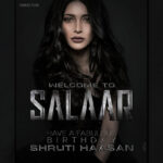 Salaar: Shruti Haasan to star Opposite Prabhas in Prashanth Neel's Film!
