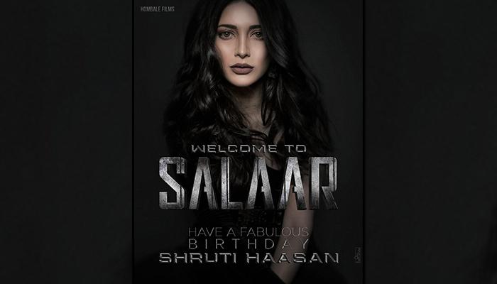 Salaar: Shruti Haasan to star Opposite Prabhas in Prashanth Neel's Film!