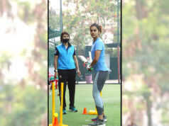 Taapsee Pannu begins training for Mithali Raj's biopic 'Shabaash Mithu'