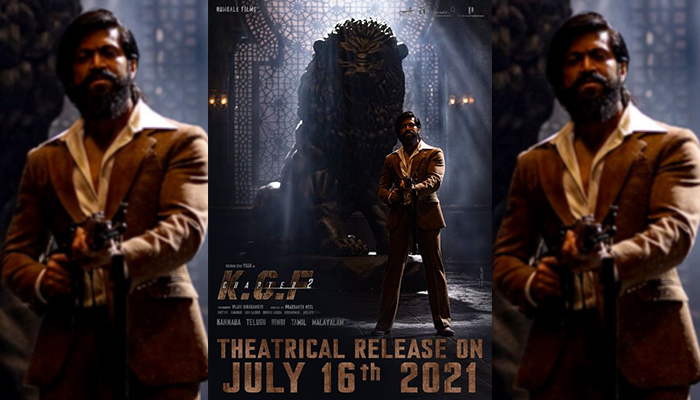 Yash and Sanjay Dutt starrer KGF Chapter 2 Gets a Release Date - Check Here