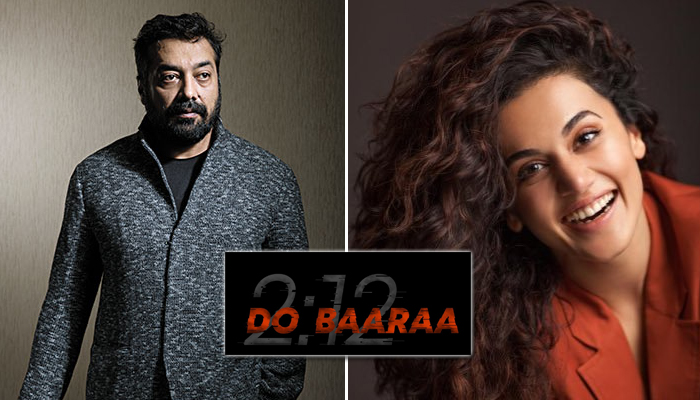 Dobaaraa: Anurag Kashyap and Taapsee Pannu reunite for Thriller; Announcement Teaser Out Now