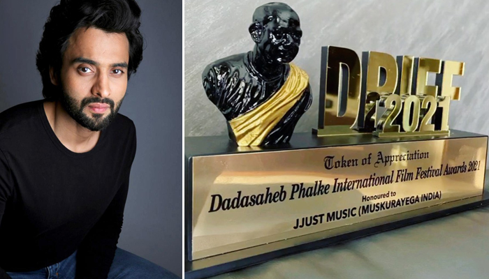 Jackky Bhagnani receives Dadasaheb Phalke Award for his song of hope to the Nation - Muskurayega India