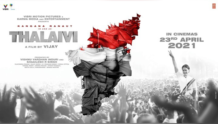 On Jayalalithaa's Birth Anniversary, Team Thalaivi Announces the Release Date!
