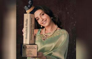 Nora Fatehi wins 'Performer of The Year Award' at Dadasaheb Phalke International Film Festival