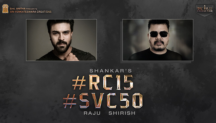 Ram Charan, director Shankar and producer Dil Raju team up for a new film!