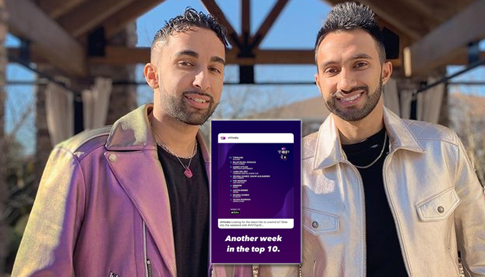 Twinjabi brothers make it to the VH1 Top 10 list once again!