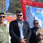 Vidya Balan and Siddharth Roy Kapur attend Gulmarg Winter Festival in Kashmir, hosted by the Indian Army