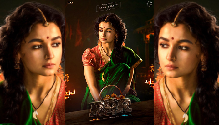 RRR Movie: SS Rajamouli shares First Look Poster of Birthday Girl Alia Bhatt From Their Period Drama