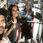 Kartik Aaryan welcomes Tabu back on the sets of Bhool Bhulaiyaa 2 with a quirky post