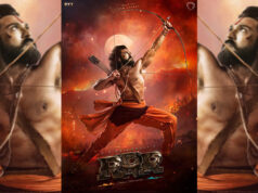 RRR Movie: SS Rajamouli Unveils the first look of Ram Charan As Alluri Sita Ramaraju!