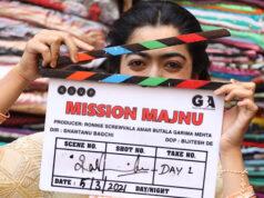 Rashmika Mandanna joins Sidharth Malhotra for the shoot of Mission Majnu today!
