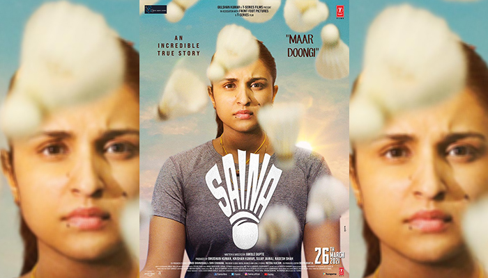 Inspiration and Aspiration the underlying message in Saina's Poster!