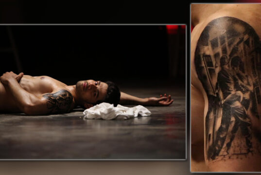 Sooraj Pancholi Sports a Cool Tattoo for his next 'Time To Dance'