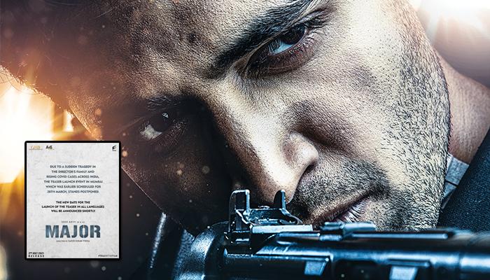 Team Major postpones Teaser launch Event in Mumbai - Details Inside