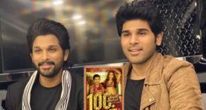 Allu Arjun congratulates his brother, Allu Sirish on the success of his debut Hindi song 'Vilayati Sharaab'