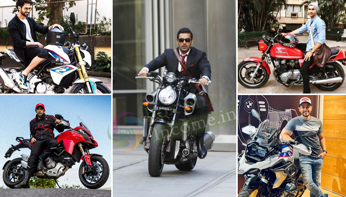 Here are most avid bikers that Bollywood has!