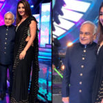 Pop Sensation Dhvani Bhanushali meets her idol the veteran composer Anandji on the sets of Indian Idol 12!