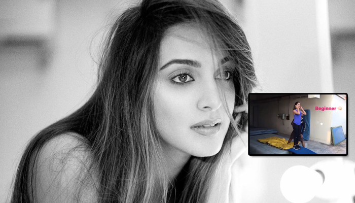 Offering fitness goals yet again, Kiara Advani shares a throwback video of a backflip!