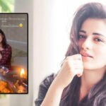 Radhika Madan celebrates Ashtami with family after a long time!