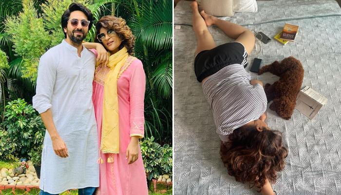 Ayushmann Khurrana turned photographer for Tahira Kashyap as she takes a nap