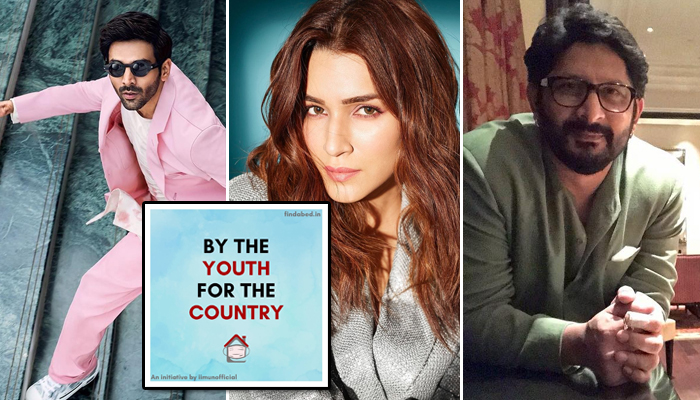 Bollywood unites to help India fight COVID-19 by supporting a youth-led initiative, Find A Bed!