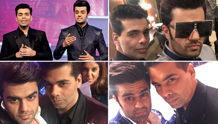 Maniesh Paul wishes Karan Johar on his birthday with throwback pictures from 'Jhalak Dikhla Jaa'