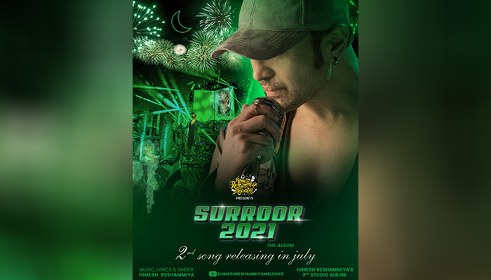 Himesh Reshammiya releases the teaser poster of his second song from 'Surroor 2021'