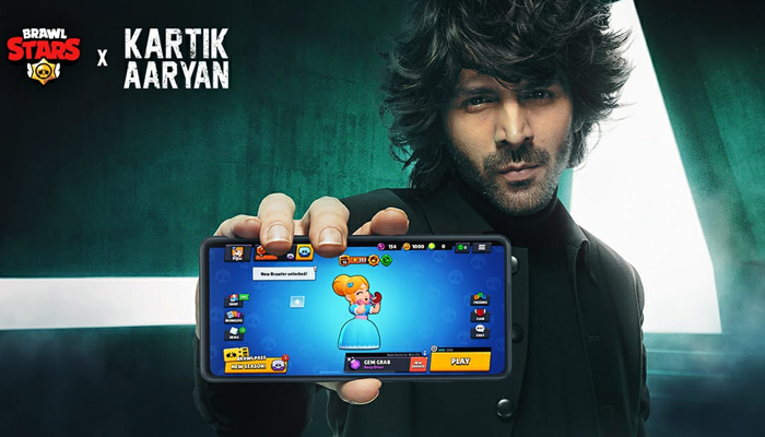 Supercell ropes in Kartik Aaryan as their brand ambassador for its Mobile Game 'Brawl Stars'