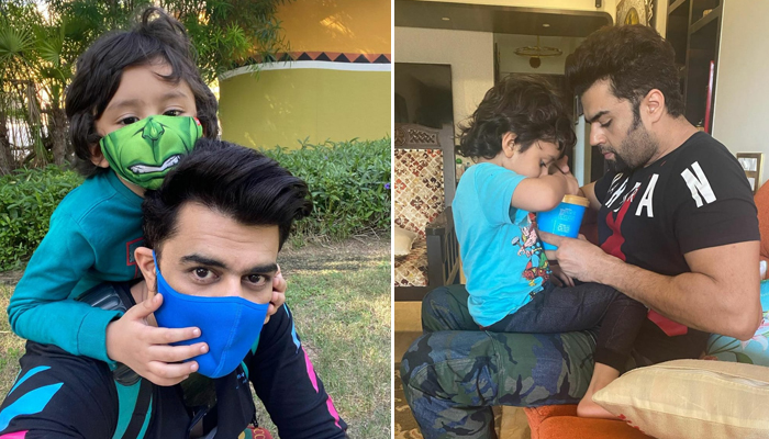 Maniesh Paul wishes son Yuvann with a heartwarming post on his birthday