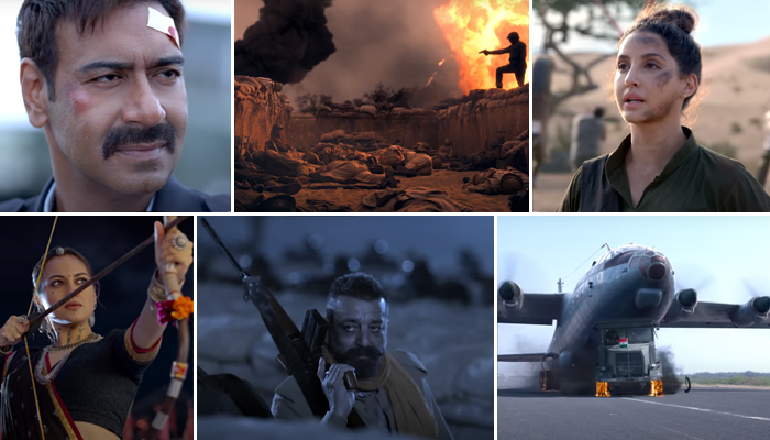 Bhuj The Pride Of India Trailer: The untold story of the greatest battle Will Give You Goosebumps!